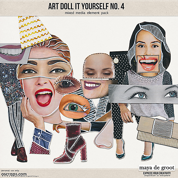 Art Doll It Yourself no. 4
