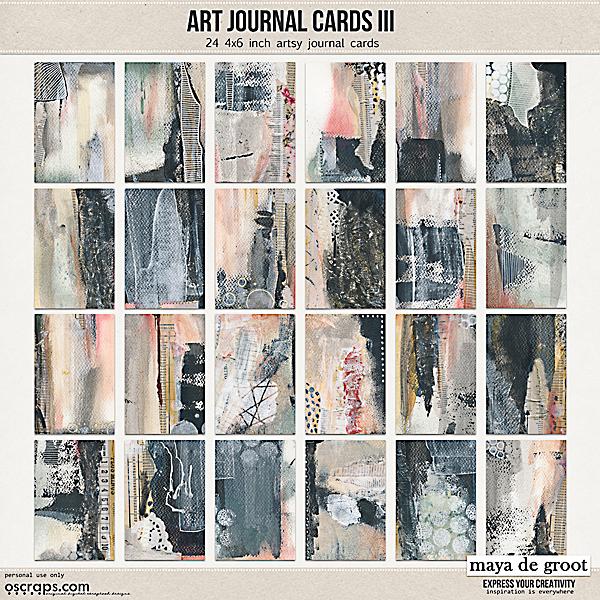 Art Journal Cards 3