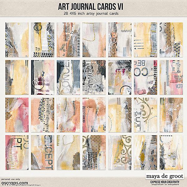 Art Journal Cards 6