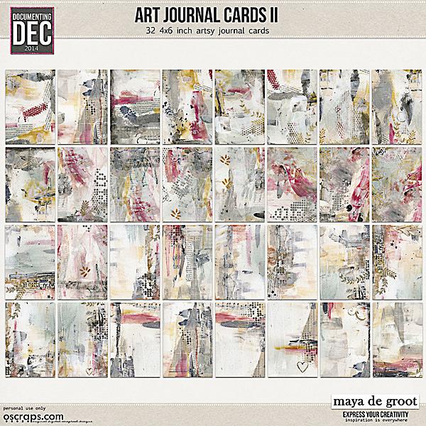 Art Journal Cards 2