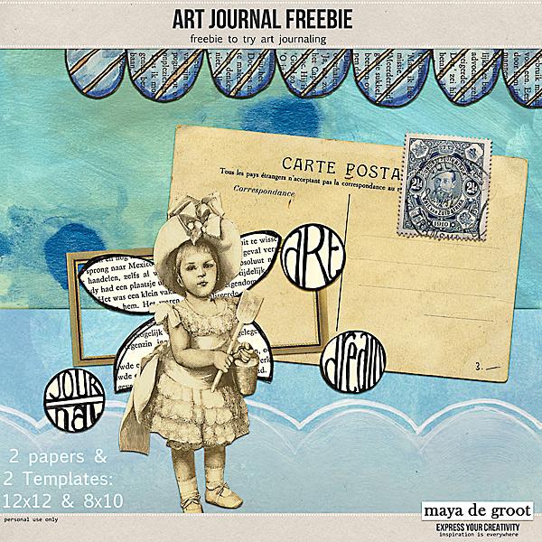 Art Journal Freebie