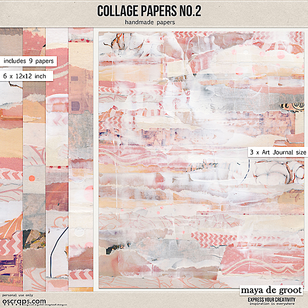 Collage Papers Set 2