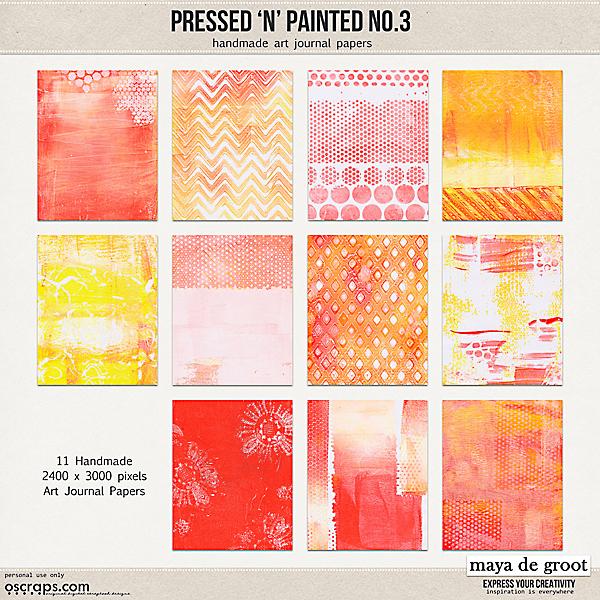 Pressed N Painted no. 3