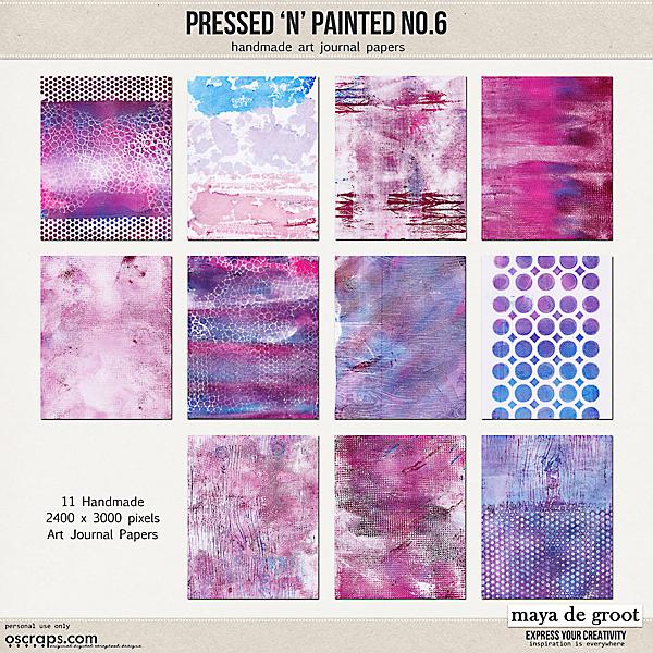 Pressed N Painted no. 6