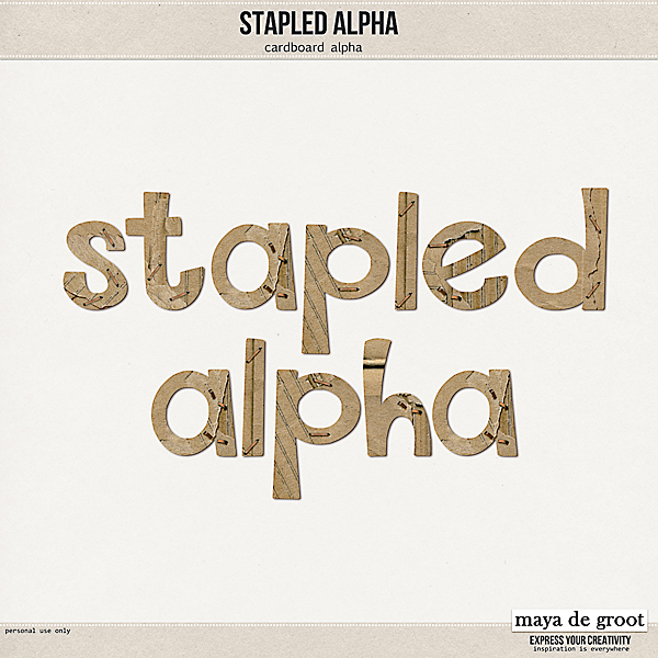 Stapled Alpha