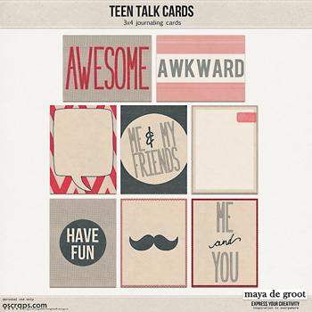 Teen Talk Cards