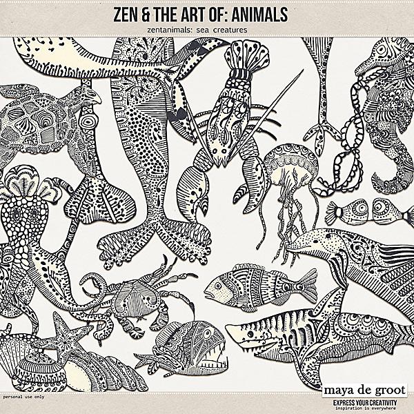 Zen and the Art of: Animals - Zentanimals Sea Creatures