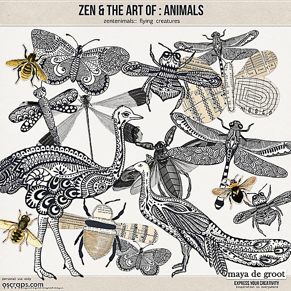 Zen and the Art of: Animals - Zentanimals Flying Creatures