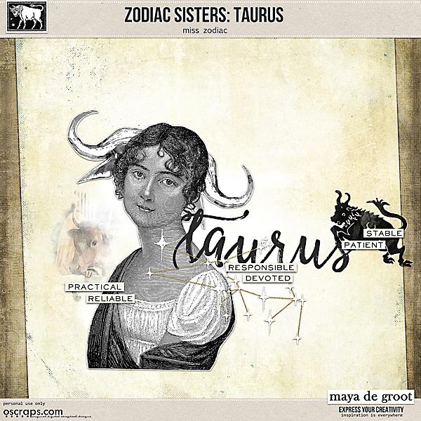 Zodiac Sisters: Taurus