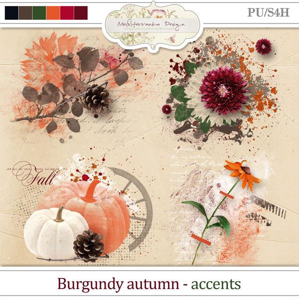 Burgundy autumn (Accents)