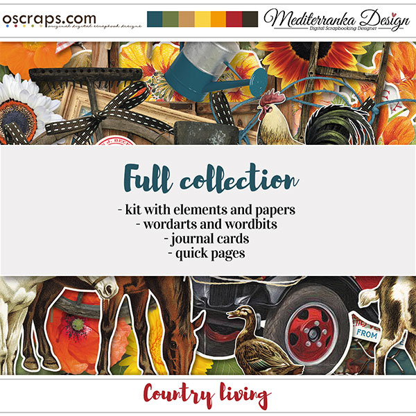 Country living (Full collection 4 in 1)