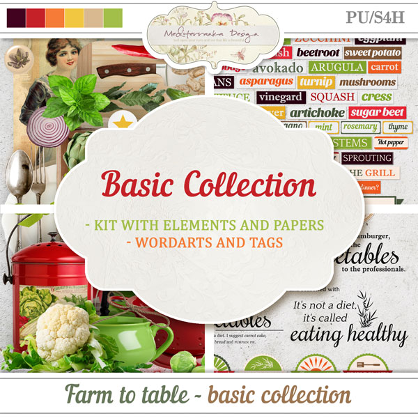 Farm to table (Basic collection 2 in 1)