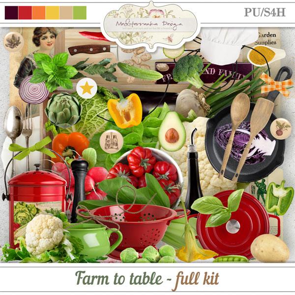 Farm to table (Full kit)