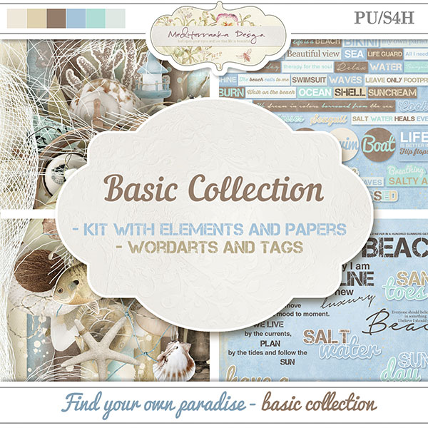 Find your own paradise (Basic collection 2 in 1)