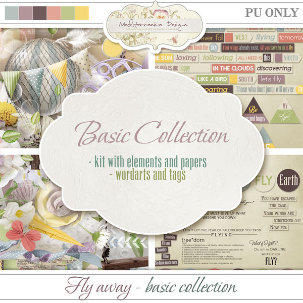 Fly away (Basic collection 2 in 1)