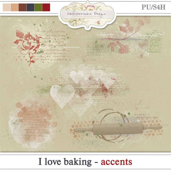 I love baking (Accents)