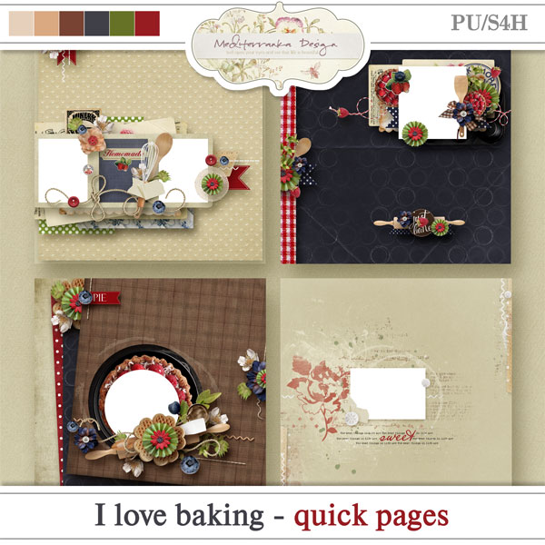 I love baking (Quick pages)