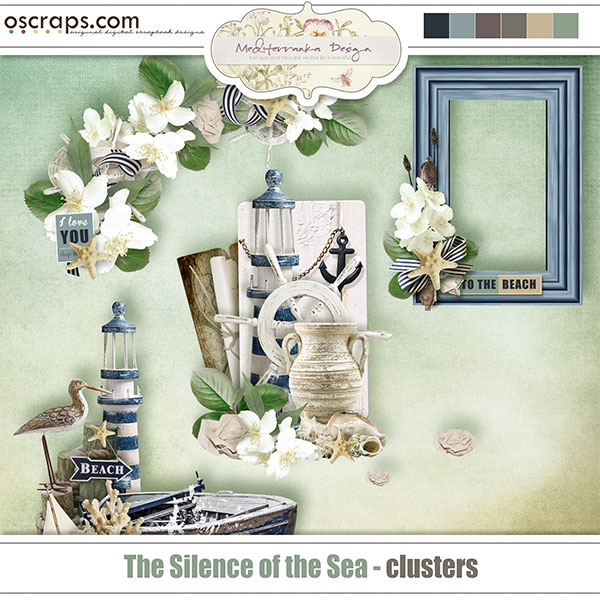 The silence of the sea (Clusters)