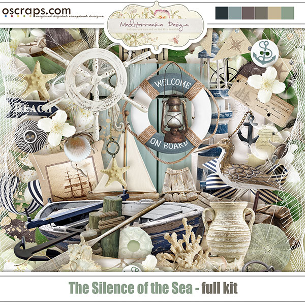 The silence of the sea (Full kit)