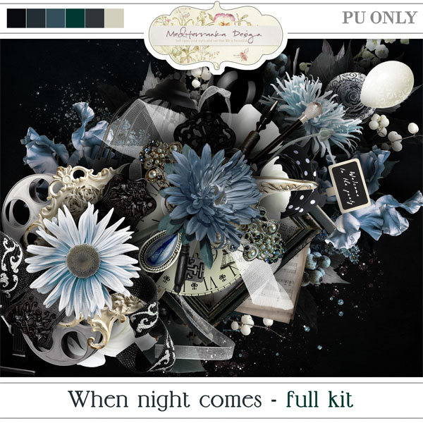 When night comes (Full kit)
