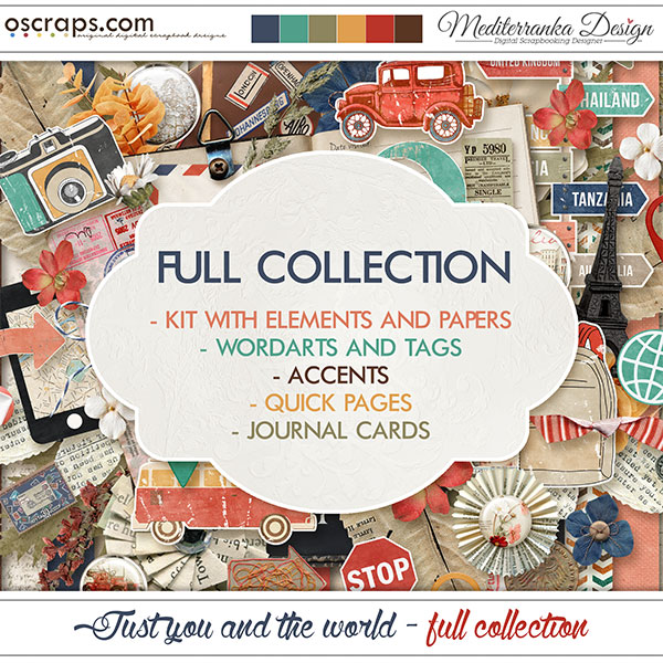 Just you and the world (Full collection 5 in 1)