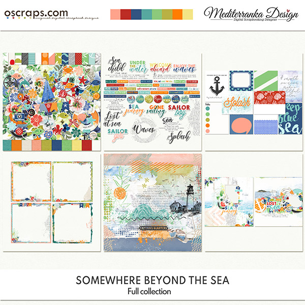 Somewhere beyond the sea (Full collection 6 in 1)