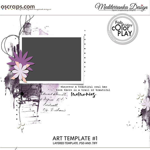 Art template #1