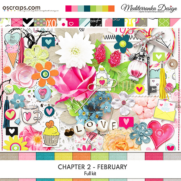 Chapter 2 - February (Full kit)