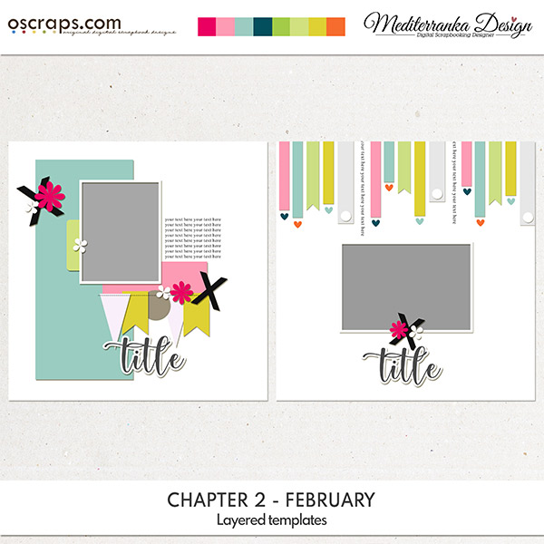 Chapter 2 - February (Layered templates)