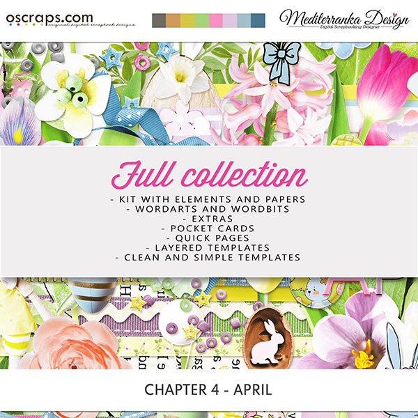 Chapter 4 - April (Full collection 7 in 1)