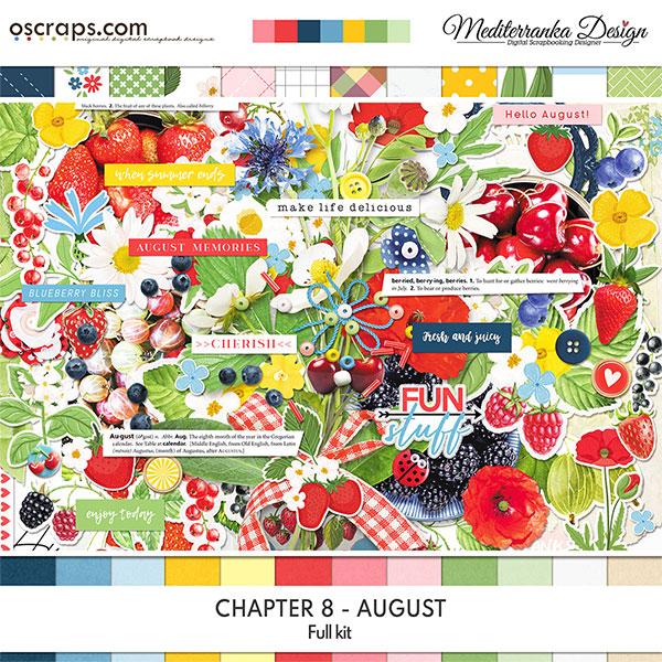 Chapter 8 - August (Full kit)