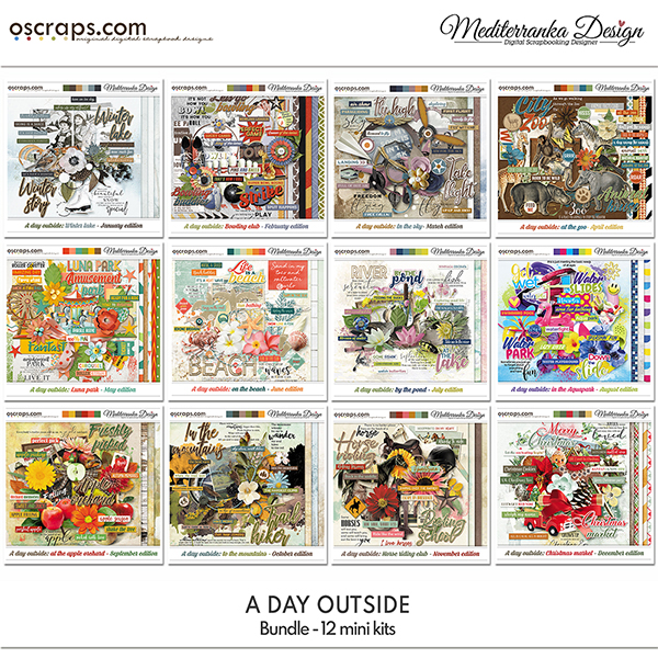 May special offer - A day outside (Bundle)