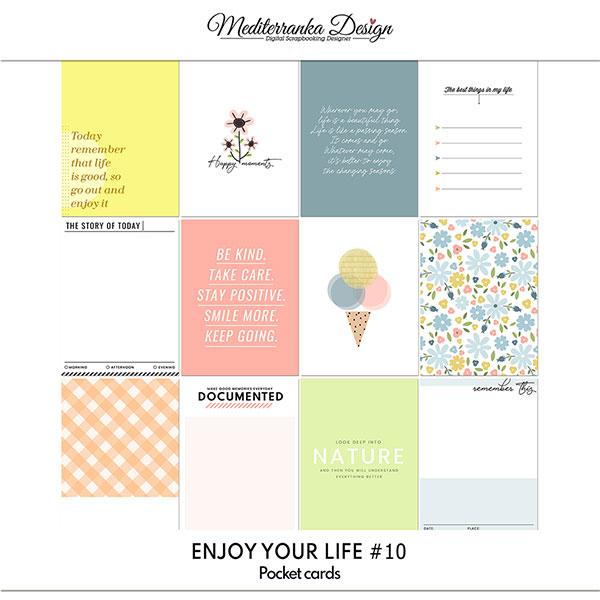 Enjoy your life No 10 (Pocket cards)
