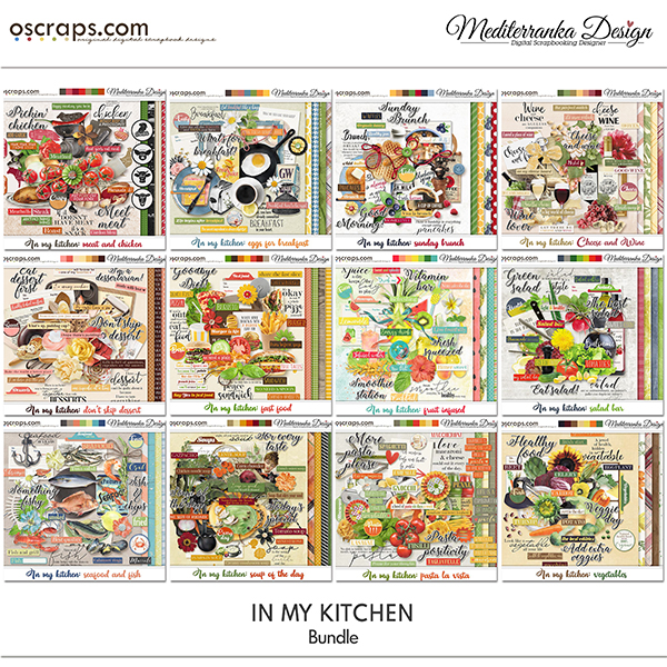 June special offer - In my kitchen (Bundle)