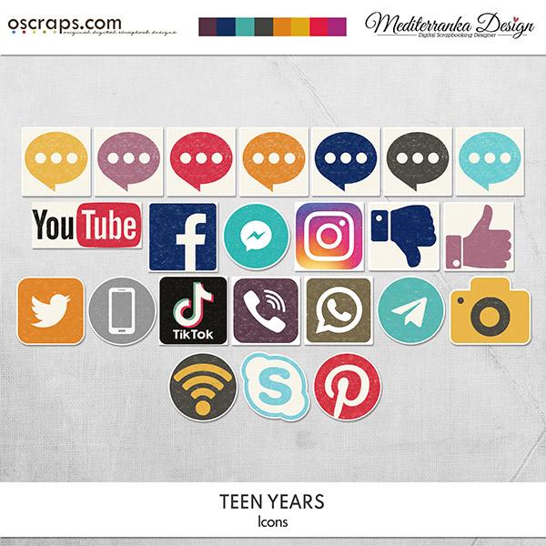 Teen years (Icons)