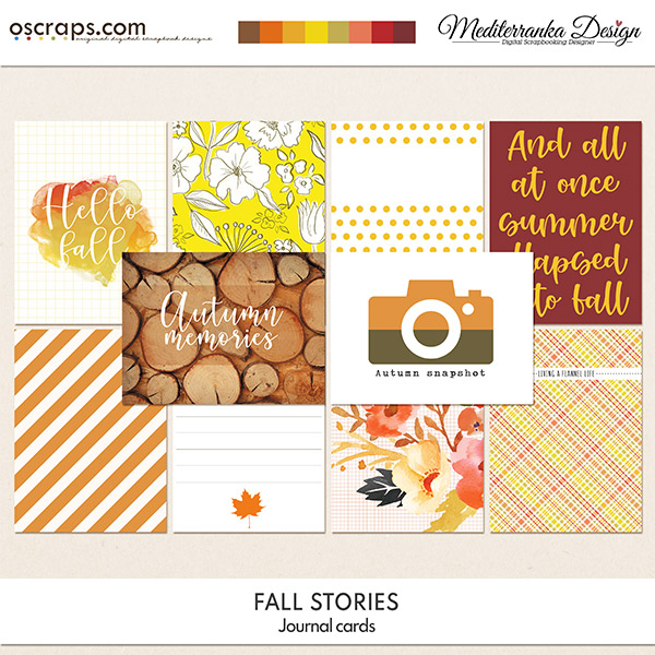 Fall stories (Journal cards)
