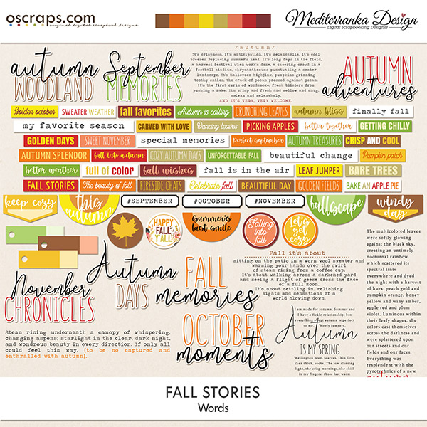 Fall stories (Words)
