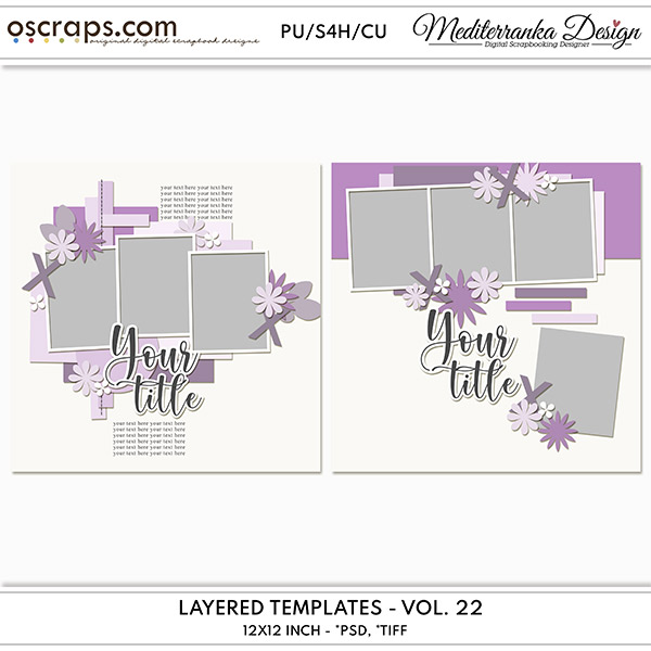 Layered templates - Vol. 22