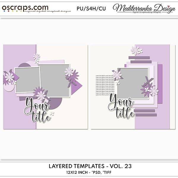 Layered templates - Vol. 23