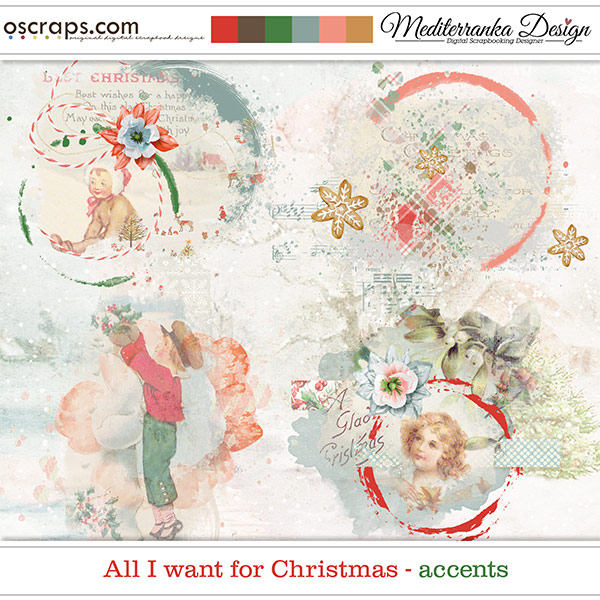 All I want for Christmas (Accents)