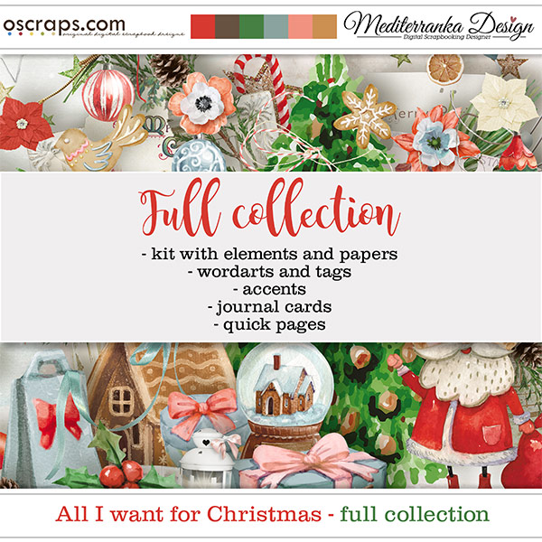 All I want for Christmas (Full collection 5 in 1)