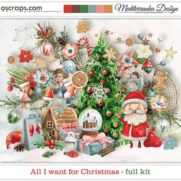 All I want for Christmas (Full kit)