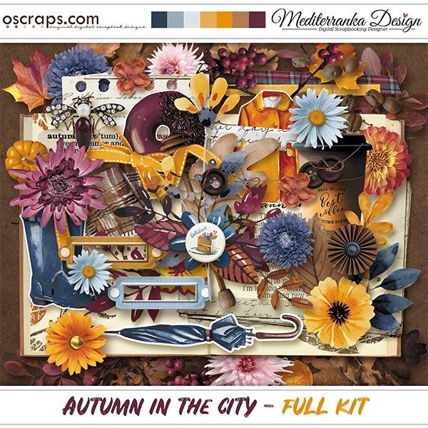 Autumn in the city (Full kit)