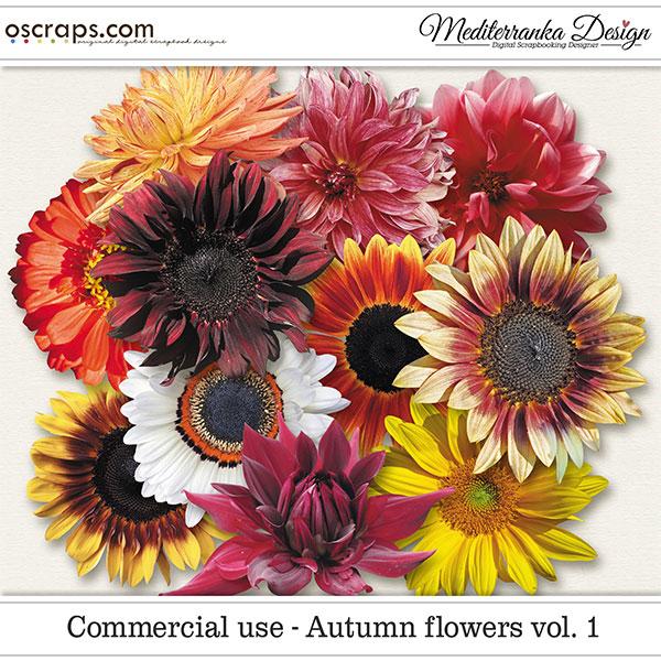 CU - Autumn flowers vol. 1