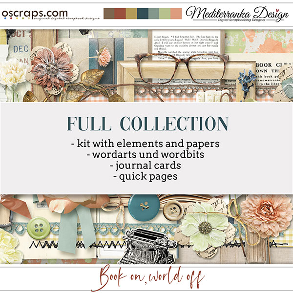 Book on, world off (Full collection 5 in 1)