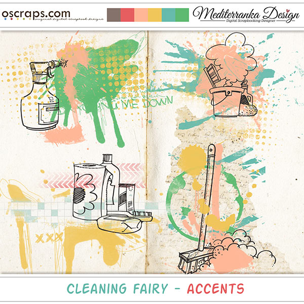 Cleaning Fairy (Accents)