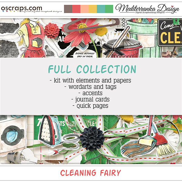 Cleaning Fairy (Full collection 5 in 1)