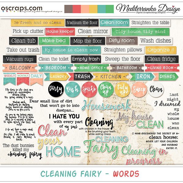 Cleaning Fairy (Words)