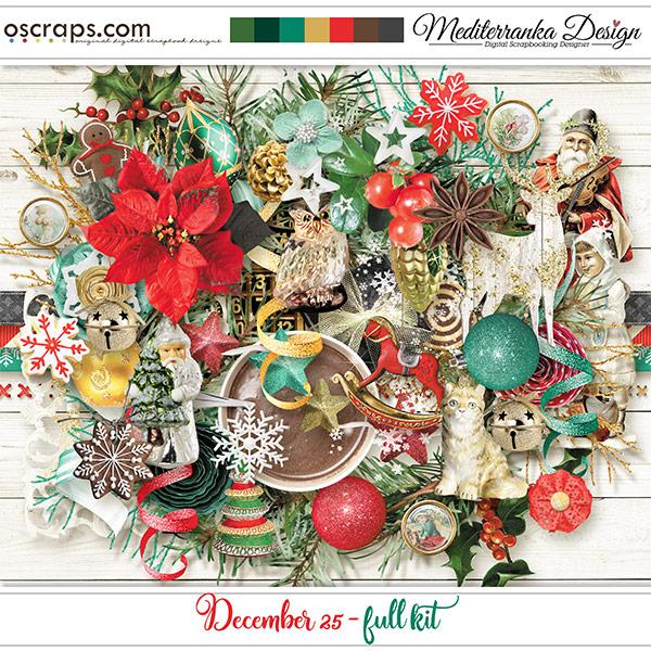 December 25 (Full kit)