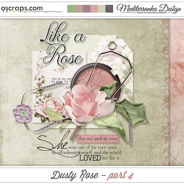 Dusty rose - part 4 (Mini kit)